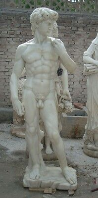 Hand Carved Sichuan Marble David 70 Inch Statue Js254