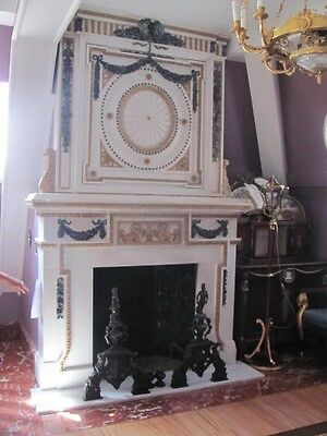 Fromeuropetoyou Hand Carved Fireplace Mantel Fo006