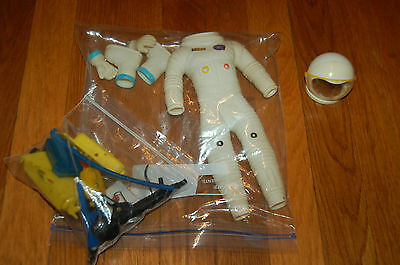 Moon Mcdare Gilbert ViNtaGE 60's Astronaut SUIT AND ACCESSORIES for Space Man