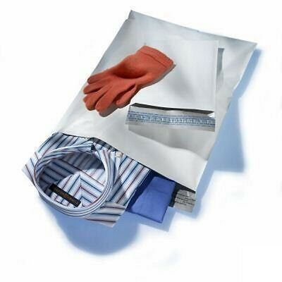 Yens® 100 #M7 WHITE POLY MAILERS ENVELOPES Self Sealing BAGS 14.5 x 19  100M7