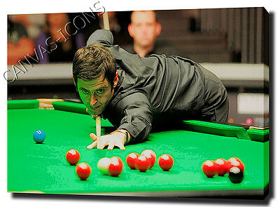 Ronnie O'sullivan Snooker Canvas Art Print Poster Photo Picture Wall Art