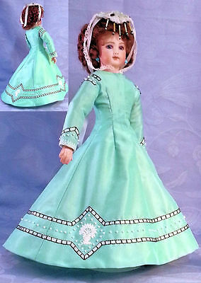 "Pattikins Yvettes Gown de Boule KIT for  12"" French Fashion Dolls Circa 1856 KIT"