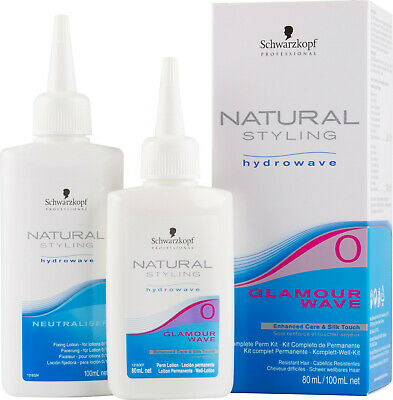 Schwarzkopf Natural Styling Hydrowave Glamour Wave Perm Kit 0