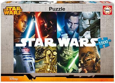 PUZZLE 1500 PIEZAS teile pieces STAR WARS - EDUCA 16312