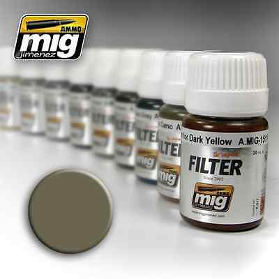 AMIG1507 - AMMO OF MIG: Filtro TAN FOR YELLOW GREEN 35ml