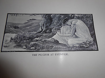 ANTIQUE CHRISTIAN RARE book PILGRIM'S VISION by Minnie W Baines 1892 Allegory