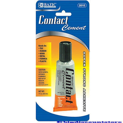 Super Strong Contact Cement Adhesive Glue Bond & Seal Bazic#2010