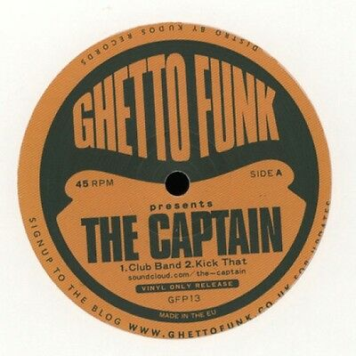 Ghetto Funk Presents The Captain 12""