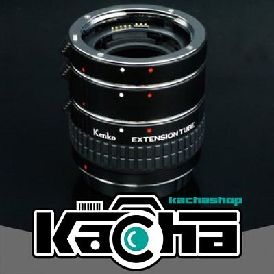 SALE Kenko Auto Extension Tube Set DG with 3 Rings for Canon EF Lens