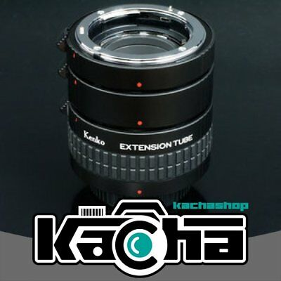 SALE Kenko Auto Extension Tube Set DG with 3 Rings for Nikon Lenses