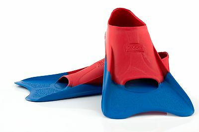 Ultra Blue Swim Fin - Duo-Tech Short Blade Swimming Fin - From Zoggs Australia