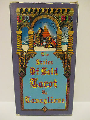 "Vintage ""The Stairs of Gold"" Tarot Card Deck - By Tavaglione"