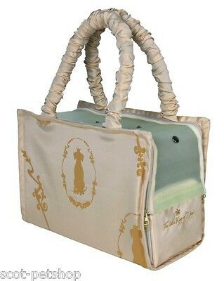 Small Dog Bag King Of Dogs Bag Beige For Cats & Dogs