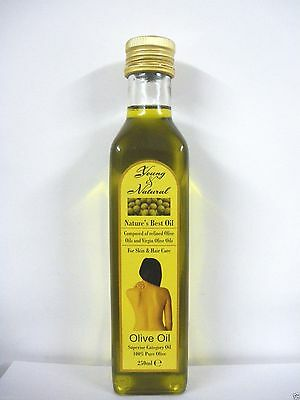 Young & Natural Nature's Best Oil 100% Pure Olive Oil For Hair & Body 250Ml