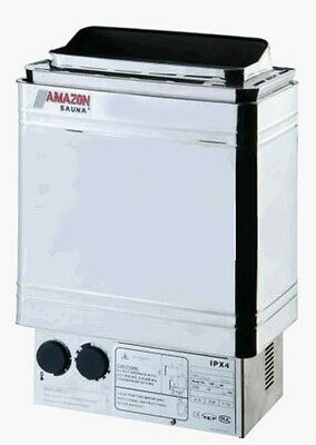 Coasts Amazon Upscale 4.5Kw Stainless Steel Sauna Heater Stove