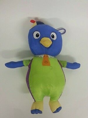 "Backyardigans Pablo Penguin Plush 10"" Stuffed Animal Fisher Price Bathtime Water"