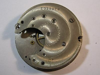 Antique Pocket Watch Movement Parts Small Gears Arts & Crafts Steampunk Gears