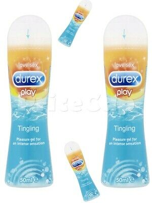 2 x Durex Play Tingle Lube 50ml Bot, Tingling Gel