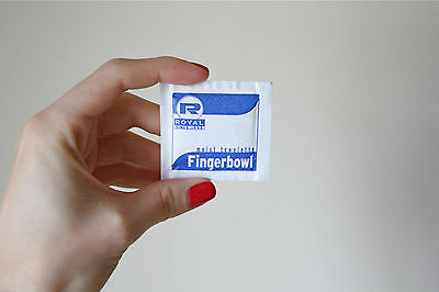 25 Pack Of Moist Towelettes Individual Packets Free Shipping