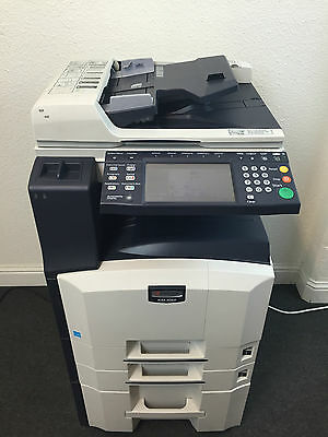 Kyocera KM-3060 Copier Printer Scanner Network and Fax LOW use 99k total pages
