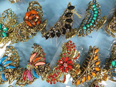 $3.75/p, wholesale 12pcs vintage retro hair claws clips