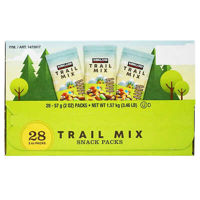 Kirkland TRAIL MIX snack packs (18 packs)