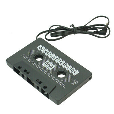 Audio Cassette Tape Adapter Aux Cable Cord 3.5mm Jack for MP3 MP4 CD Player