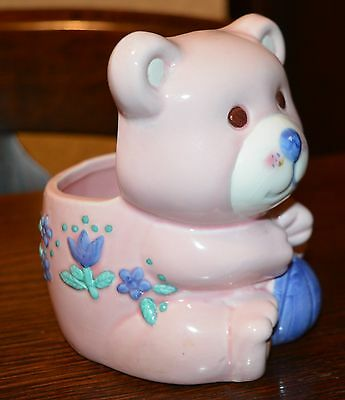 Flower Arrangement Pot Ceramic Bear for New Baby
