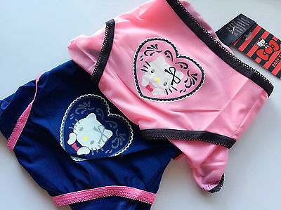 Women Lady Sweet Hello Kitty Undies Panties Thong Briefs Underwear Lingerie AU10