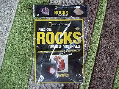 National Geographic Precious Rocks Gems & Minerals Magazine Issue 13 Red Jasper