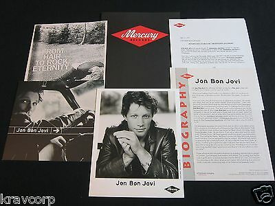 Jon Bon Jovi 'Destination Anywhere' 1997 Press Kit--Photo