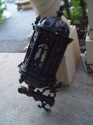 Heavy Solid Gothic Cast Iron Victorian Style Sconces Wl005