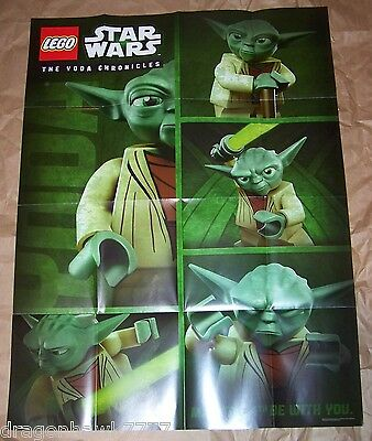 Lego the Yoda Chronicles POSTER Star Wars May the 4th promotion 2013