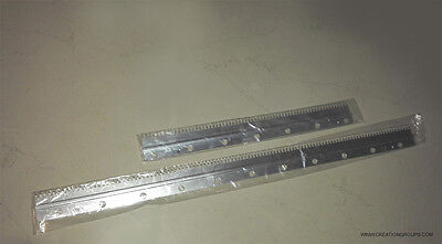 Cast-on Comb Set Long + Short Plate for 9mm Brother KR260 KR230 Studio SR150 155