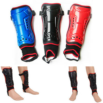 NEW Football Soccer Team Sports Shin Pads Guards Set Leg Protector w/ Ankle Sock