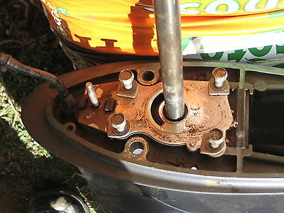 Yamaha Outboard  F 40Hp 2000 - 2015 67C-45300-11-4D Lower Leg Gearbox Working