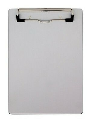"""Saunders Aluminum Clipboard with Low Profile Clip, Memo Size, 5.75 X 9.5"""" 21510"""
