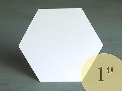 """600 Hexagons 1"""" HIVE PAPER PIECES English Paper Piecing EPP Quilting Templates"""