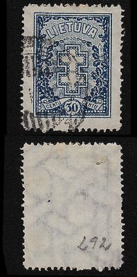 Lithuania, 1927, SC 217, used, wmk '147'. rt1005