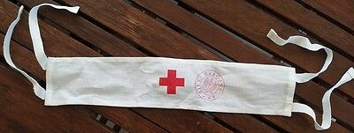 Orig.army Surplus Medic Arm Band First Aid Doctor Armband Free Ship Red Cross