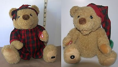 Avon Mama Bear  & Baby from The Animated Christmas Story Time Telling Bears 2000