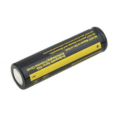 18650 4000mAh 3.7V Rechargeable Li-ion Battery Flashlight  KK
