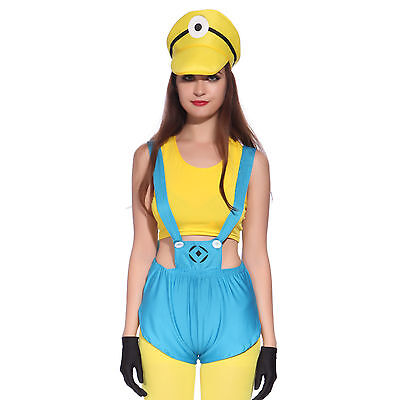 Halloween Cosplay Travestimento Minions Despicable Me Cattivissimo Me Adulti