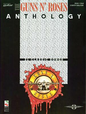 Guns N' Roses Anthology - 21 classic songs - Faber Music- 9780571530007