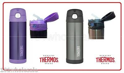 ❤ THERMOS Funtainer Stainless Steel 470ml Vacuum Insulated Beverage Bottle ❤