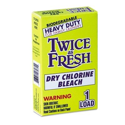 Heavy Duty Coin-Vend Powdered Chlorine Bleach, 1 load, 100/Carton - VEN 2979646