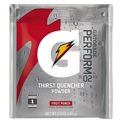 Original Powdered Drink Mix, Fruit Punch, 8.5oz Packets, 40/Carton - QOC 3808