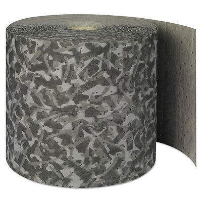 Battlemat Heavy-Roll Sorbent Pads, 25gal, 15'' x 150ft, Industrial Camouflage