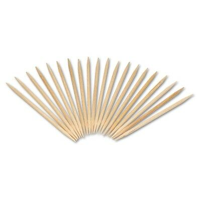 Round Wood Toothpicks, 2 3/4'', Natural, 19200/Carton - RPP R820