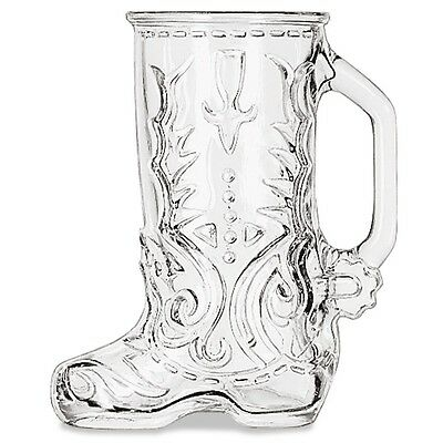 Libbey Boot Mug, 17 oz, Glass, Western Boot Mug - LIB 97036